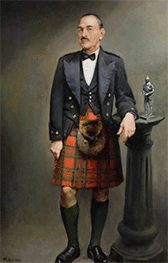 a painting of G.G.G. Hunter