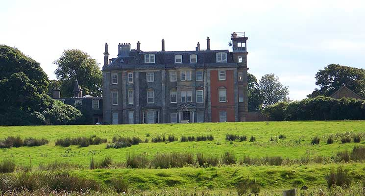photograph showing Hunterston house