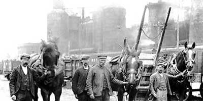 Hunters of Scotland in the Ironworks and mining
