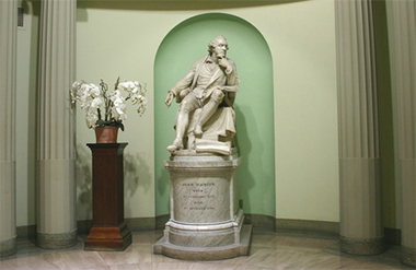 statue at the Royal College of Surgeons