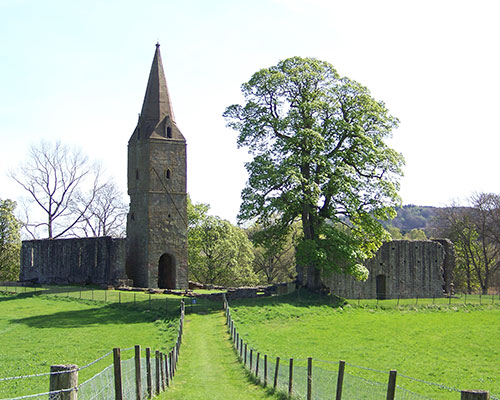 photo showing Restenneth Priory now