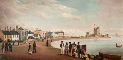 painting of Broughty Ferry